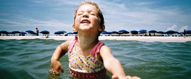 Girl at Ship Island