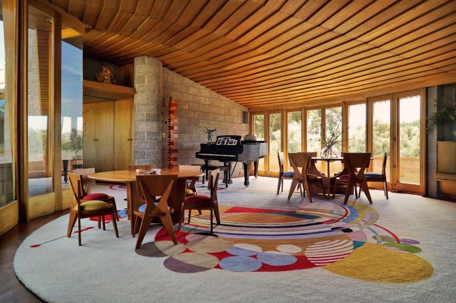 Wright House interior