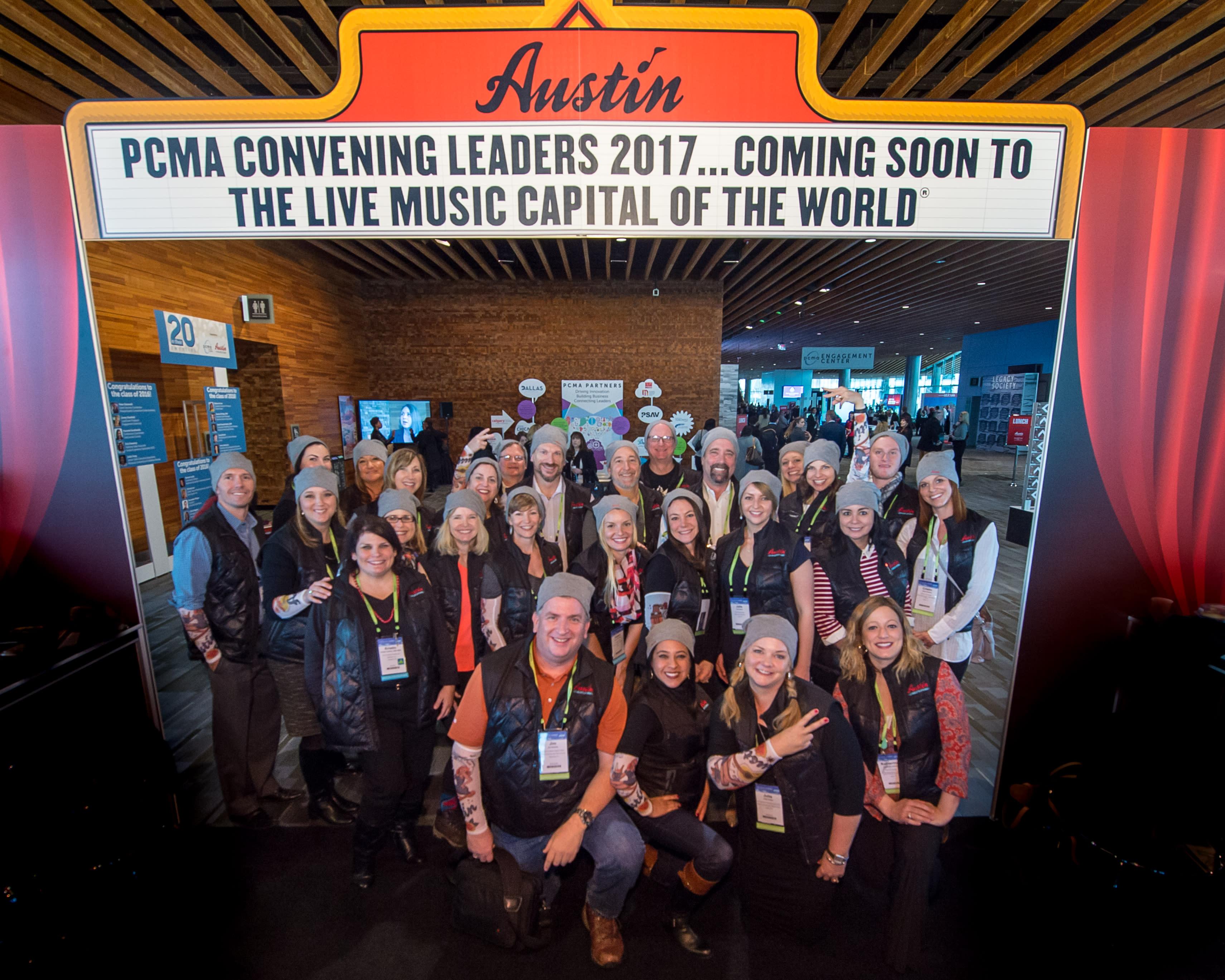 Austin Team at PCMA 2016