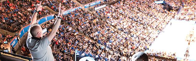 Oklahoma City Thunder Crowd