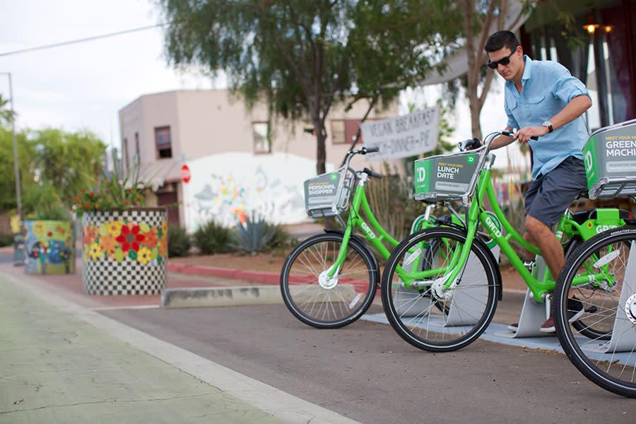Grid Bike Grand Avenue