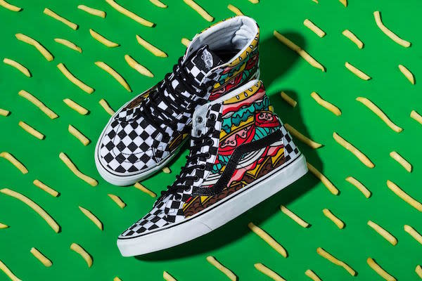 """The Vans """"Late Night Pack"""" 50th Anniversary high-top"""
