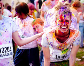 The Color run is a unique road race and a big, bright, messy festival of life. come play.