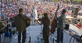 Music, food, arts, crafts, dance, storytelling...you name it, it's on display at the Great Lakes Folk Festival - pack your sunscreen.