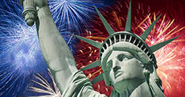The 4th of July is just a plain old fashioned American good time!