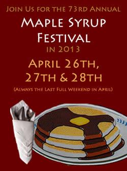 Vermontville Maple Syrup Festival Lansing, MI