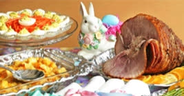 Fantastic Easter spreads like this can be found in Greater Lansing!
