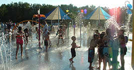 Kids of all ages will love the Splah Pad at Hawk Island Park, but its just one of many fun things to do under the summer sun.