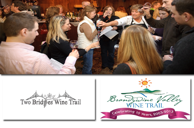 Wine Trails Lead to Wilmington: Two trails, Two directions, Many pours