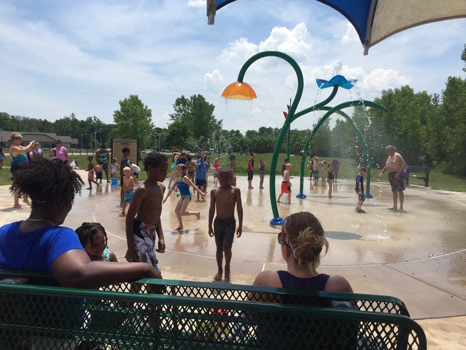 Splash Pad at Avon Park