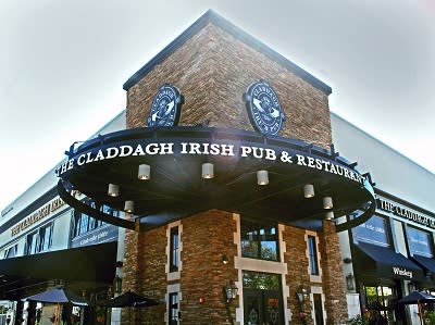 Claddagh Irish Pub is located in The Shops at Perry Crossing mall in Plainfield.