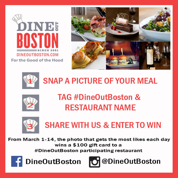 Dine OUt Boston Social Contest