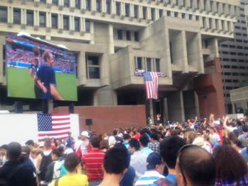 US Soccer game