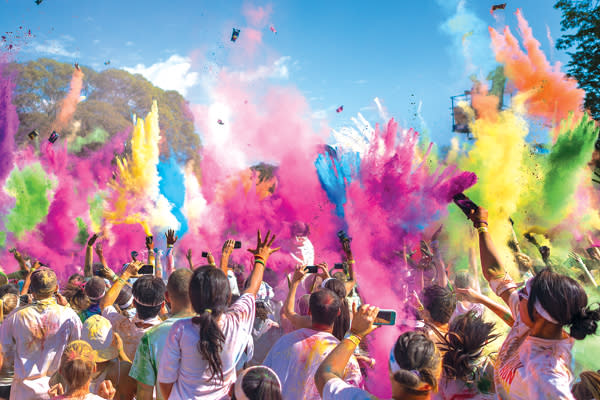 Stay tuned for more information on the Color Vibe 5k.