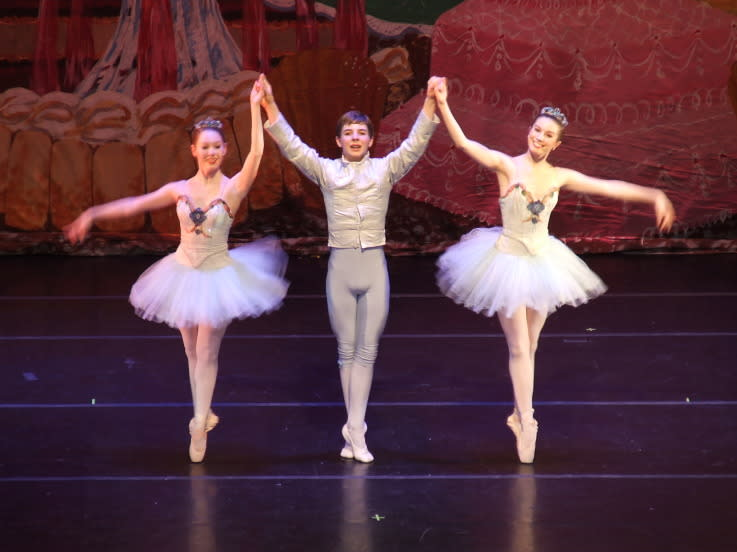 The talented dancers from the Fort Wayne Ballet bring the classic Nutcracker tale to life each year.