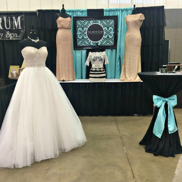 The Bride to Be is one vendor you can visit at the Bridal Spectacular