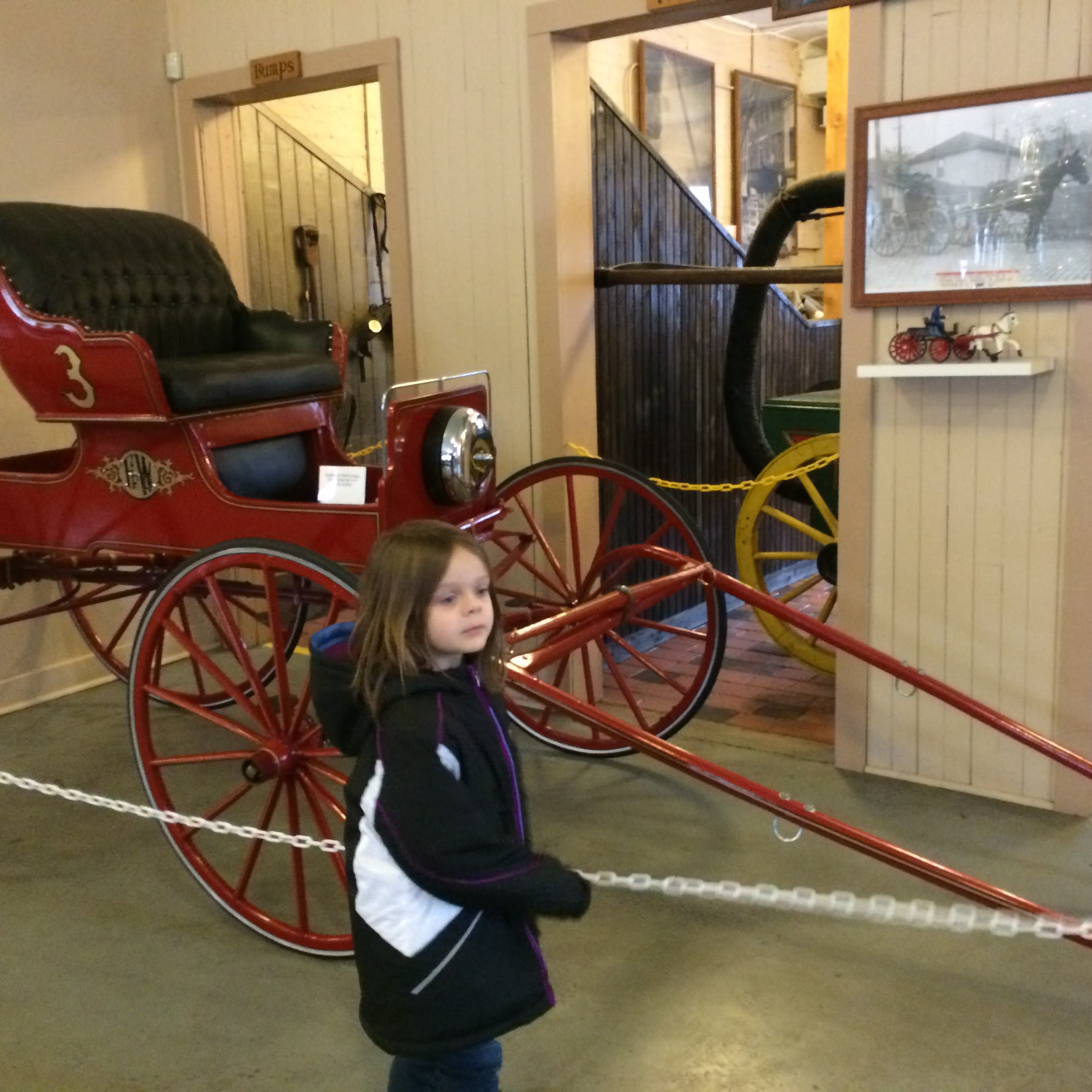 Firefighter's Museum buggy