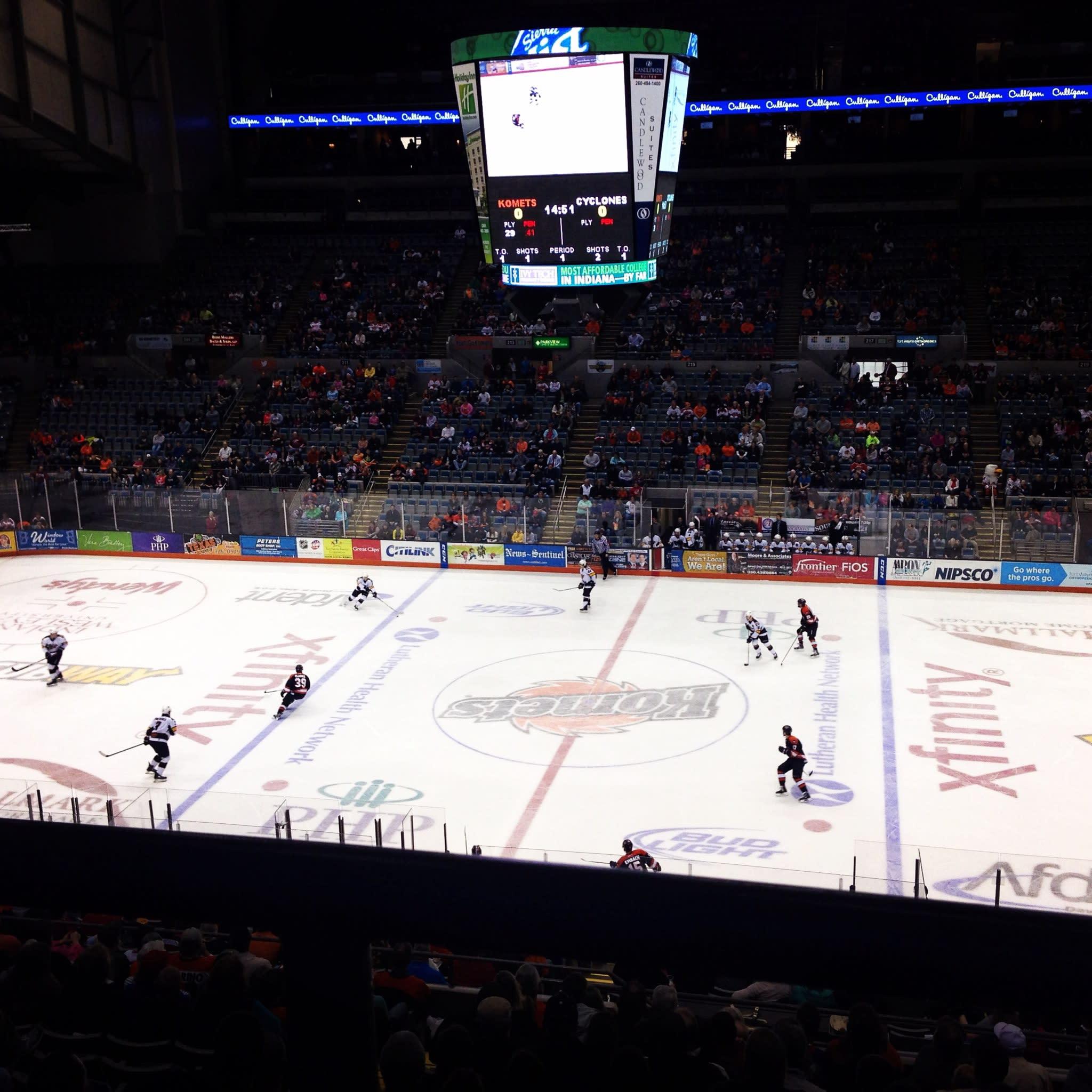 Cheer on the Fort Wayne Kometsa at the Allen County War Memorial Coliseum!