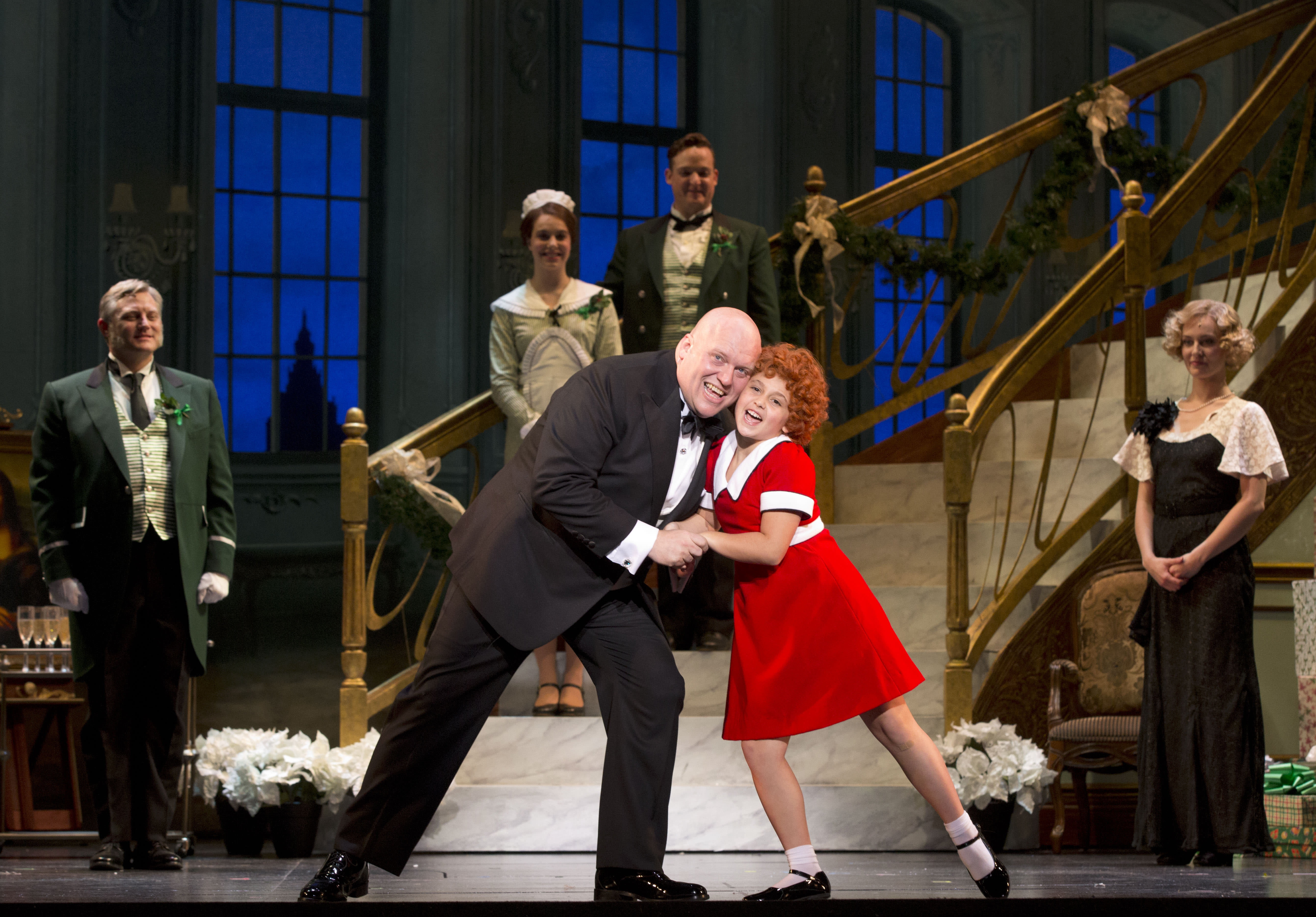 Annie - The Musical brings beloved characters to life.
