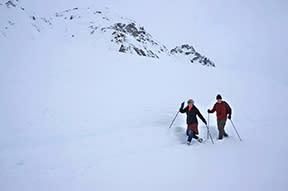 Indy Mine snowshoe 2