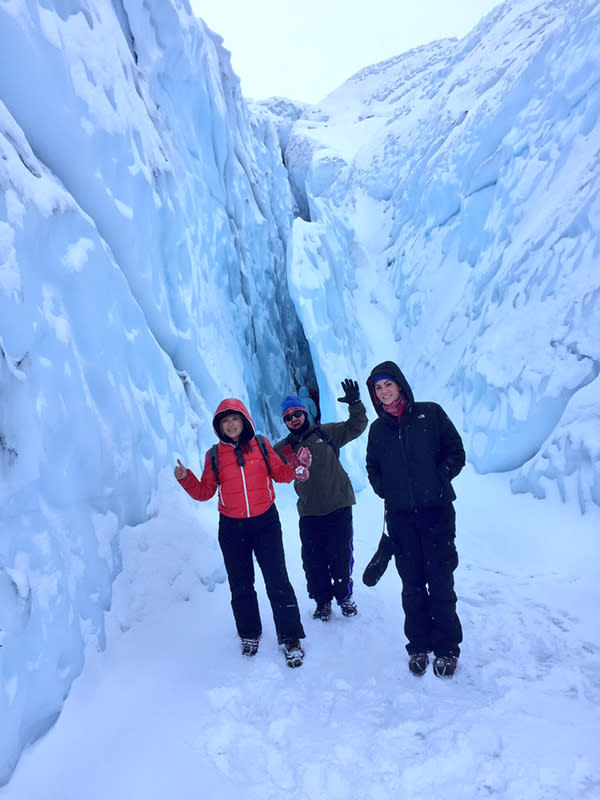 Matanuska Glacier trek