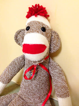 sock monkey blog