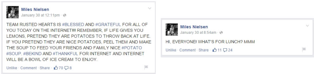 guest blog - miles nielsen posts