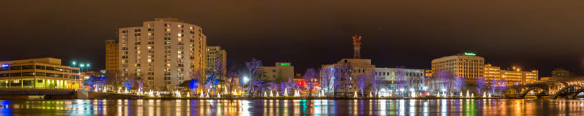 winter blog-river lights 1