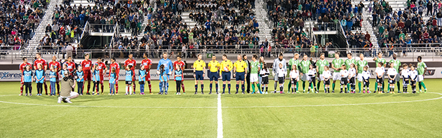 Energy FC Pre-Game Field Photo