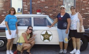 Don't forget to take a photo with the police cruiser!
