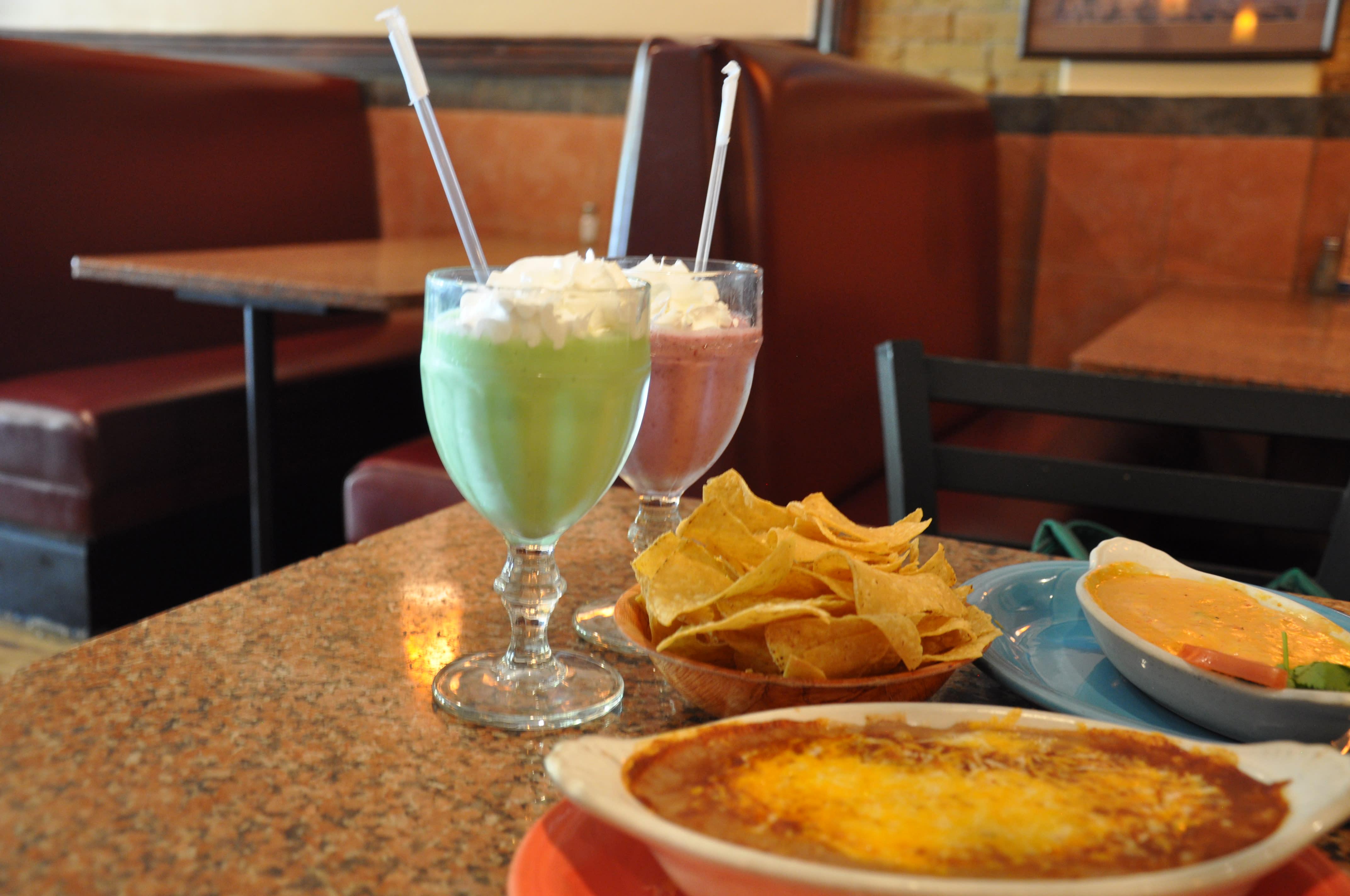 Drinks at Los Hermanos