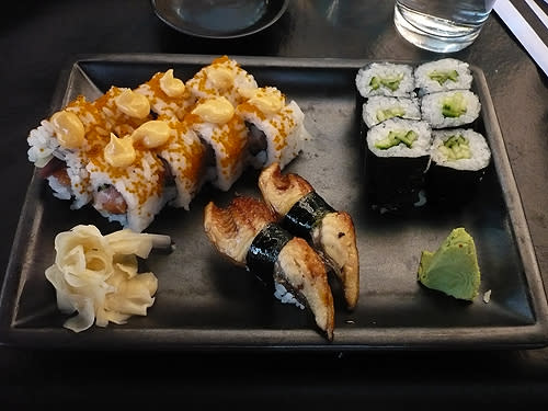 The Wasatch Roll at Happy Sumo