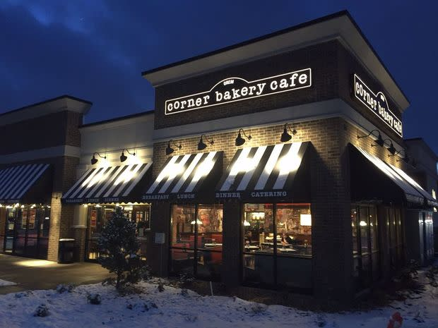 Exterior for Corner Bakery