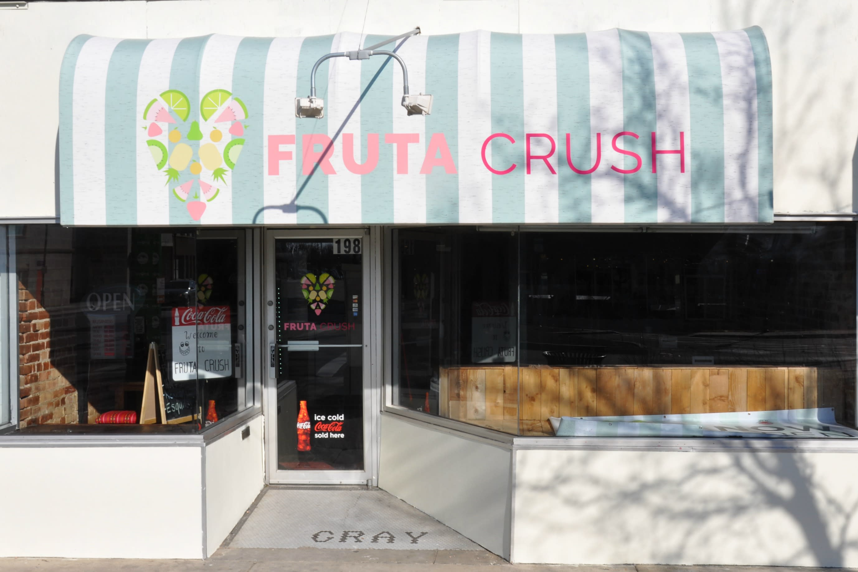 The Fruta Crush Storefront