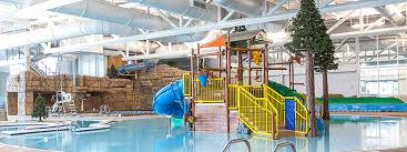 The indoor pool at the Provo Recreation Center