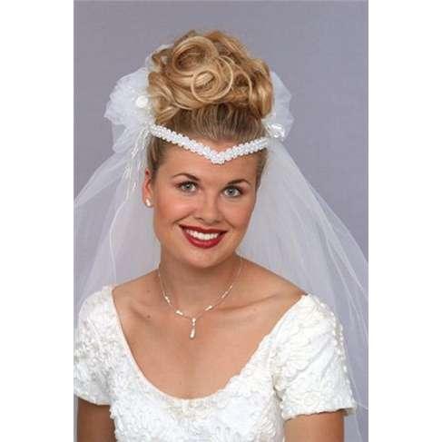 An 80s bride