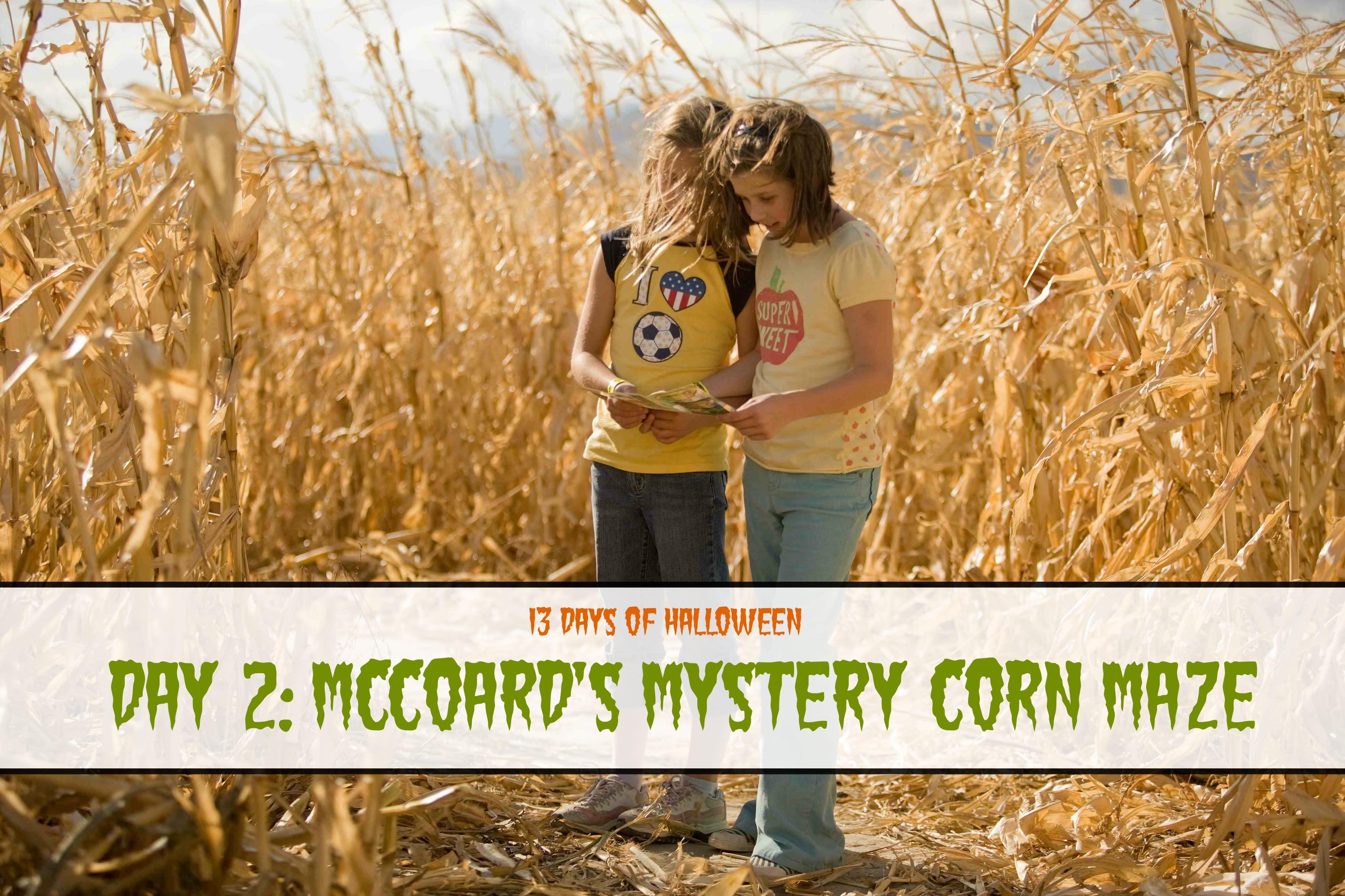 Day 2: McCoard's Corn Maze