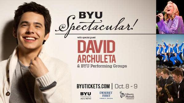 BYU Spectacular with David Archuleta