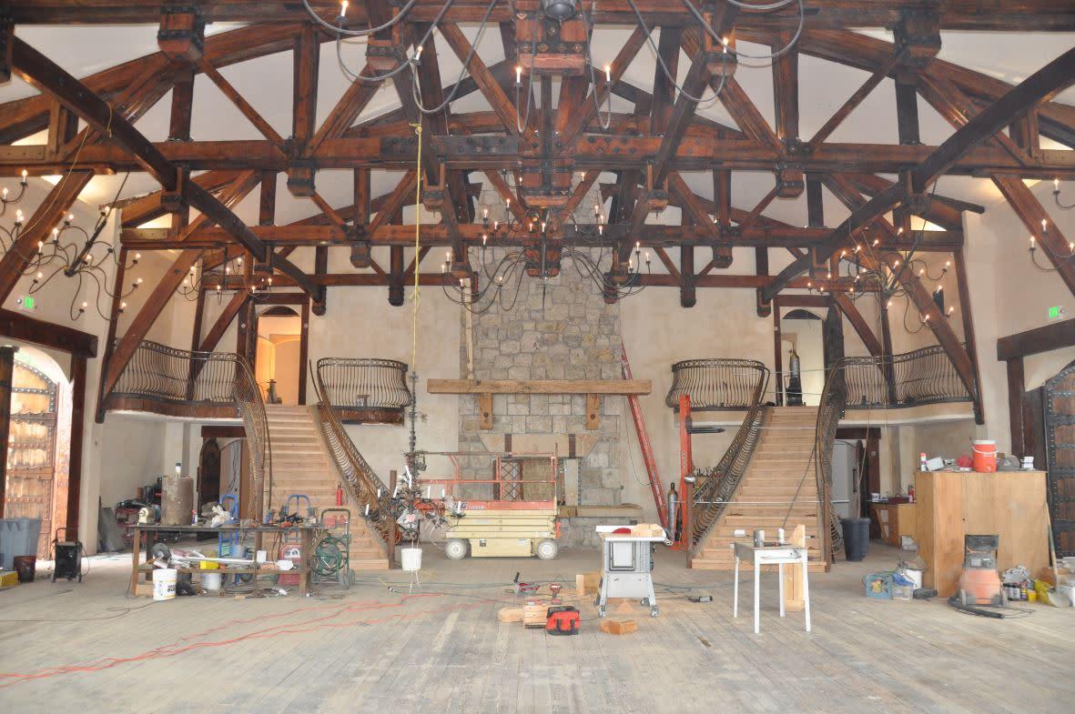 Wadley Farms Castle-Great Hall