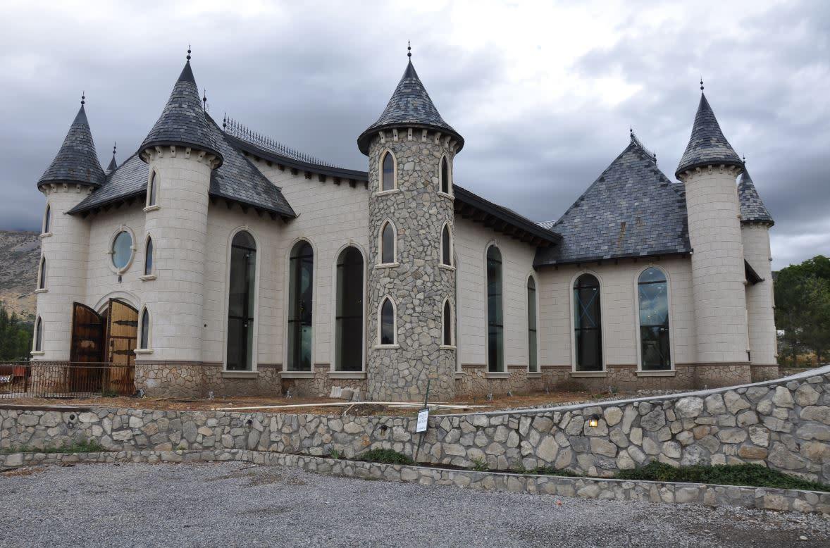 Wadley Farms Castle Exterior