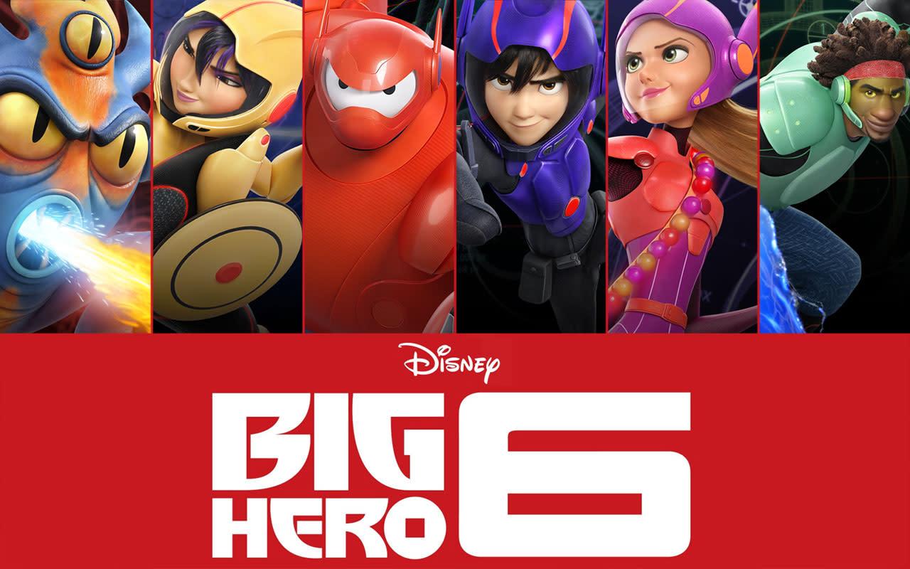 The Big Hero 6 Movie Poster