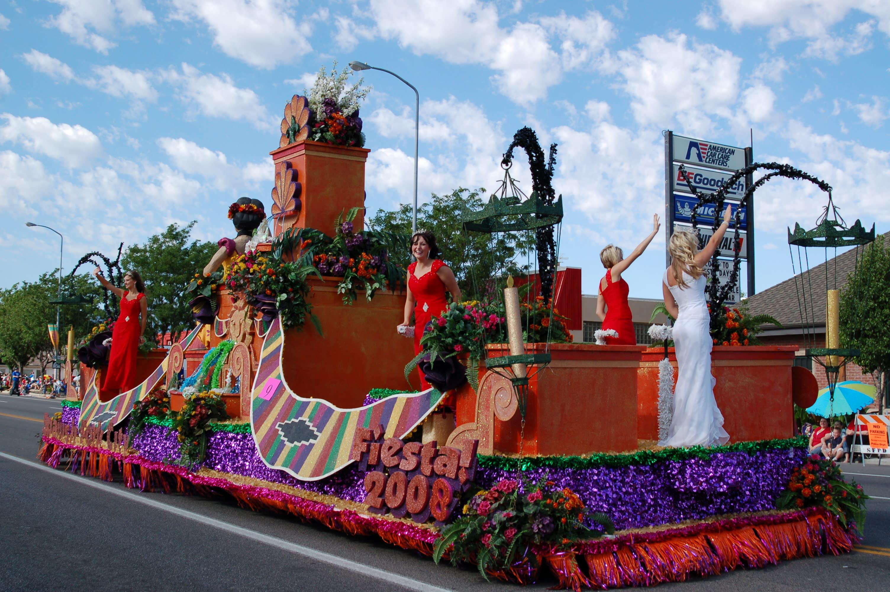 The Fiesta Days Grand Parade