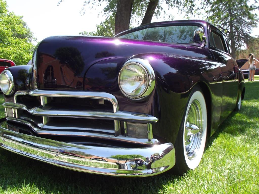 Fancy Purple Car
