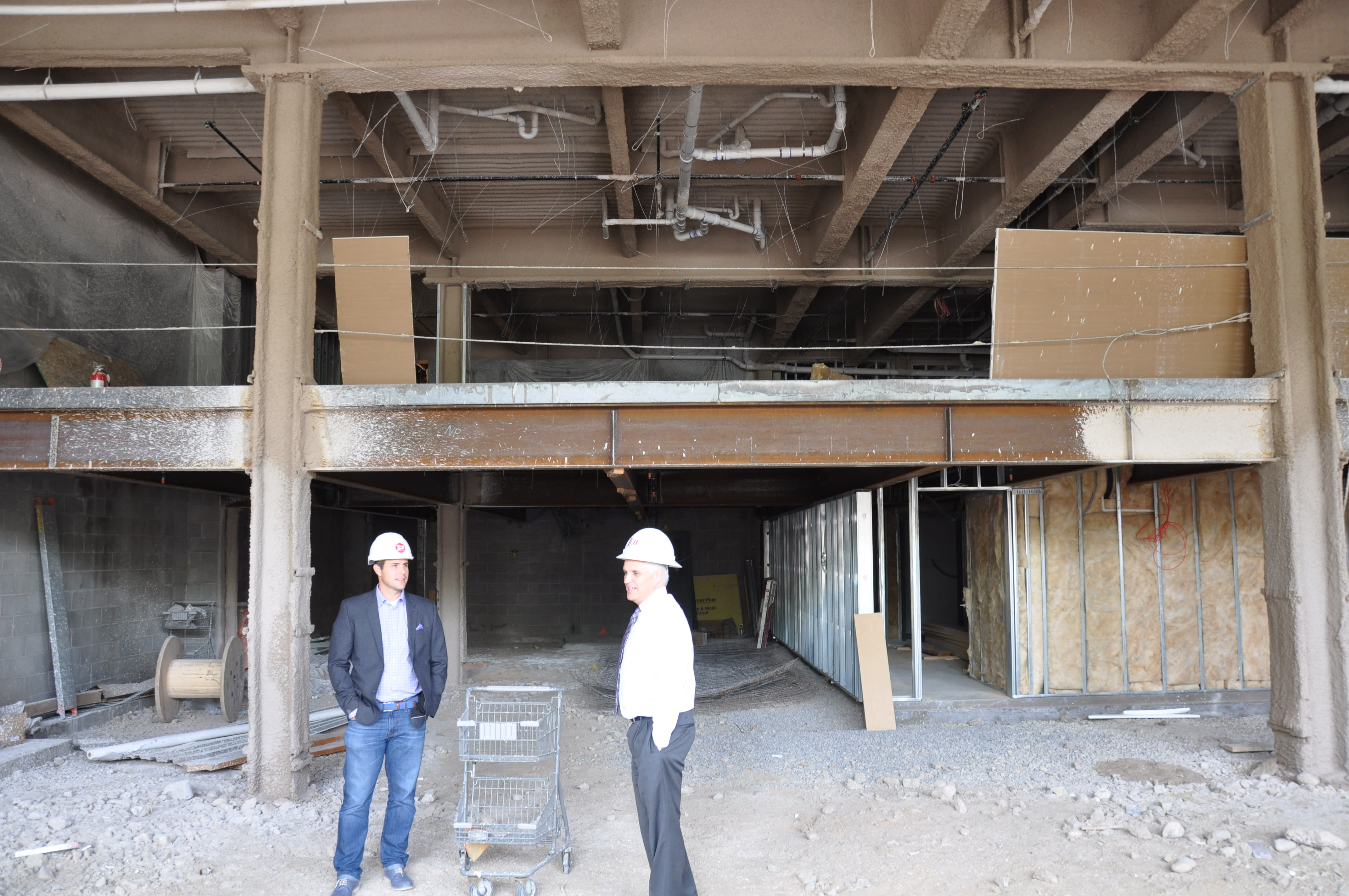 The ground floor of 63 will house a 2-story restaurant