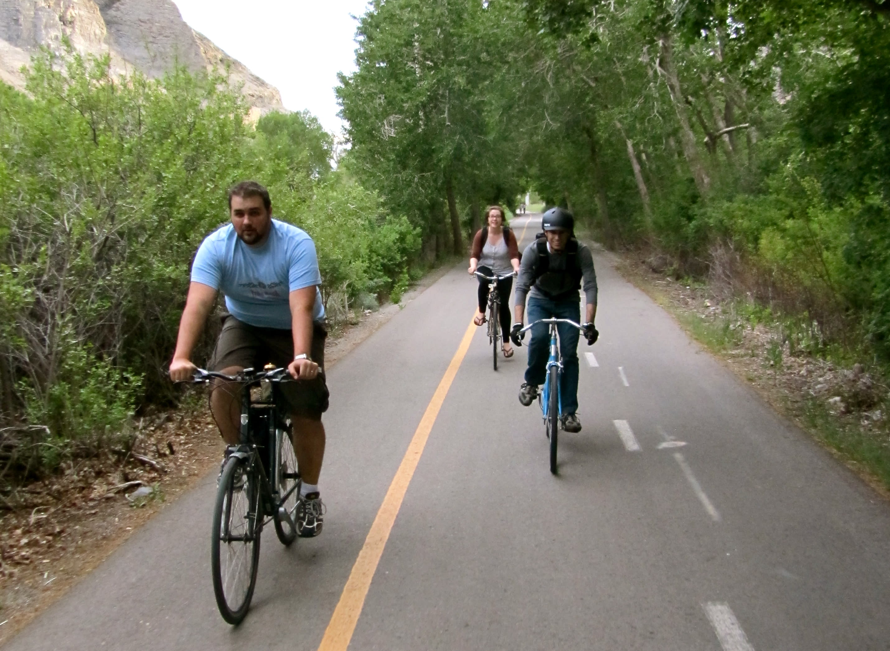 The Provo River Parkway is a biker's dream.