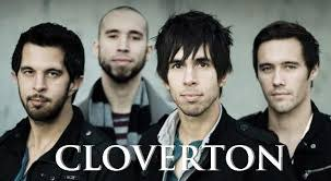 Promotional image of the four member of Cloverton