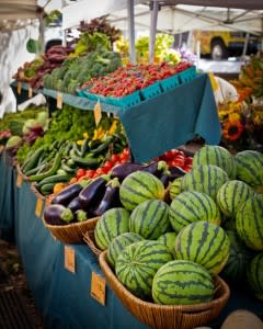 Farmers Market Melons