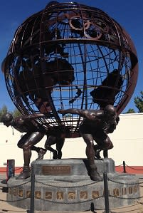 """USA Olympic Training Center Visitor Center """"Olympic Strength"""" by Mike Gaffaney"""