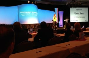 US Olympic SportsLink Conference Picabo Street by Mike Gaffaney