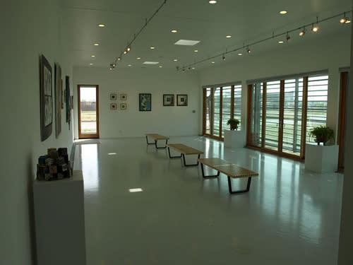 Interior of 5.4.7. Art